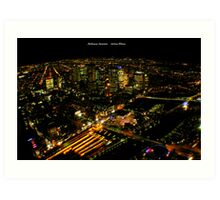 Eureka View - Melbourne Australia Art Print
