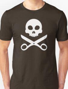 Skull and Scissors Unisex T-Shirt