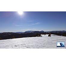Snowy Scene 2 Photographic Print
