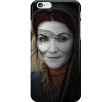 Catelyn Tully House Stark War Paint iPhone Case/Skin