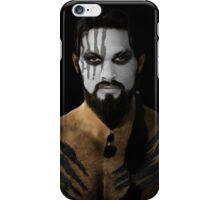 Khal Drogo Dothraki King House War Paint iPhone Case/Skin