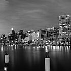 Darling Harbour Panorama BW - View In Large by MiImages