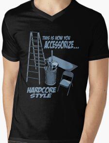 Hardcore accessorizing Mens V-Neck T-Shirt