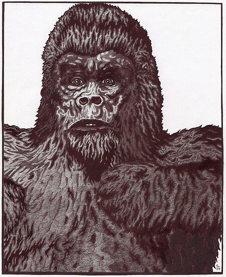 Gorilla by jolon larter