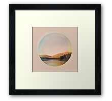 Digital Landscape #4 Framed Print