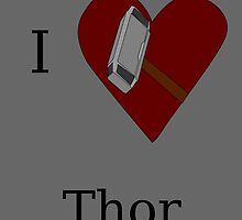 I Heart Thor by GeekyToGo