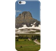 Logan Pass, Glacier National Park, Montana iPhone Case/Skin