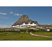 Logan Pass, Glacier National Park, Montana Photographic Print