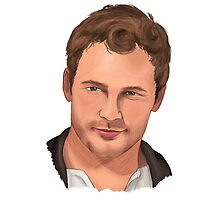 Chris Pratt by spectromagiic