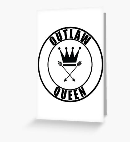 Once Upon a Time - Outlaw Queen Greeting Card