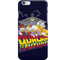 Quack To The Future iPhone Case/Skin