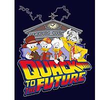 Quack To The Future Photographic Print
