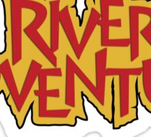 River Adventure Sticker