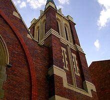 Church On Watt Street by reflector