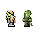 Terraria- Hallowed Armored and Lihzahrd by JoeyTheBoey
