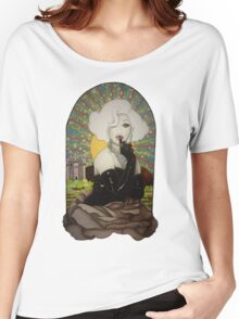 Clear Background Jinkx Monsoon Design Women's Relaxed Fit T-Shirt