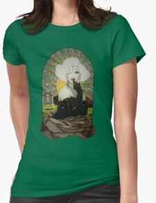Clear Background Jinkx Monsoon Design Womens Fitted T-Shirt