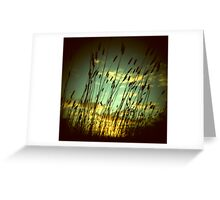 the haunted light Greeting Card