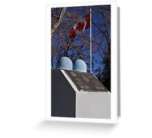 Canadian Cenotaph  Greeting Card