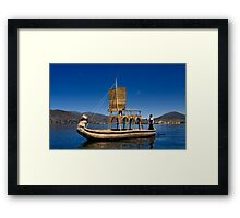 Cruisin' with Dragons Framed Print