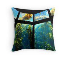 Monterey Bay Aquarium Throw Pillow