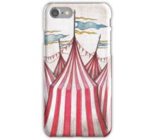 Circus top tents iPhone Case/Skin