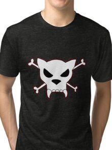 jolly whiskers pirate shirt Tri-blend T-Shirt