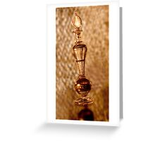 Exotic Egyptian Perfume Greeting Card