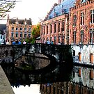 Brugges Canal in Fresca by Suraj Mathew