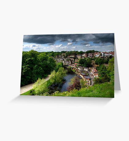 Eye Over Knaresborough Greeting Card