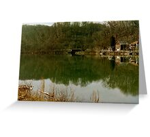 reflective view Greeting Card
