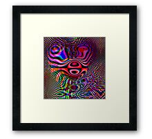 Love, Peace & Happiness Framed Print