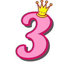 3rd birthday princess party theme and gifts by Tee Brain Creative