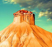 remarkable formation - north dakota by JMDunworth