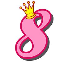 8th birthday princess party theme and gifts by Tee Brain Creative