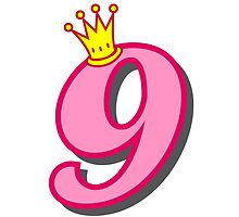 9th birthday princess party theme and gifts by Tee Brain Creative