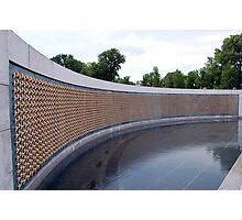 World War II Memorial, Washington DC, USA Photographic Print