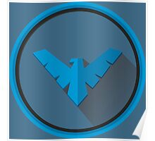 Nightwing - Logo V.02 Poster