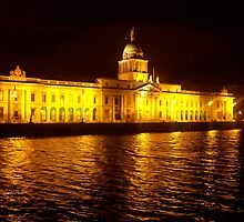 Custom House of River Liffey by Mary Alice Franklin