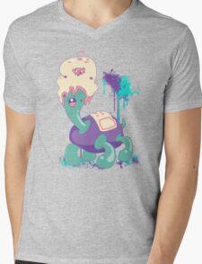[what A pair] Mens V-Neck T-Shirt