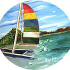Ready to Sail Away by WhiteDove Studio kj gordon