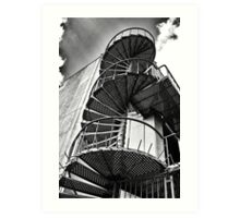 Spiraling Upward Art Print