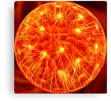 Great Ball Of Fire! Canvas Print