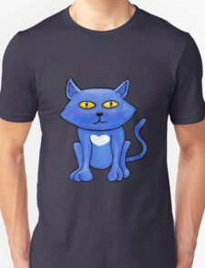 Blue Cat (close up) T-Shirt