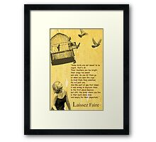 Stephen King 'quote' Framed Print