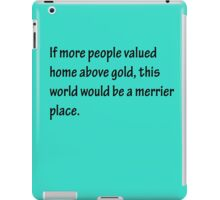 A Merrier Place iPad Case/Skin