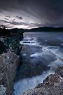 Dusk on Tasman Coast by Robert Mullner