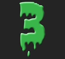 3rd birthday zombie monster party theme and gifts by Tee Brain Creative