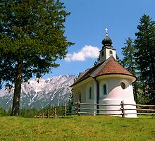 Chapel at Lautersee by kevin smith  skystudiohawaii