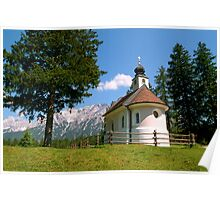 Chapel at Lautersee Poster